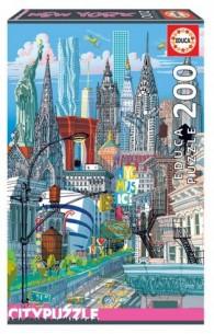 PUZZLE 200 NEW YORK 18472