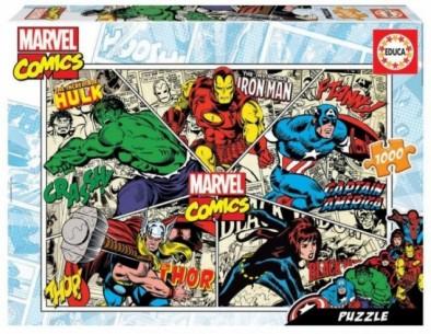 PUZZLE 1000 MARVEL COMICS...
