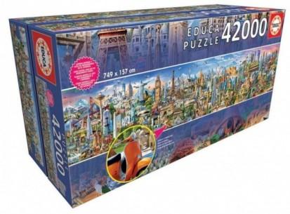 PUZZLE 42000 LA VUELTA AL...