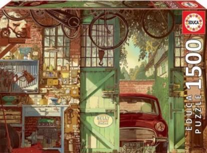 PUZZLE 1500 OLD GARAGE,...
