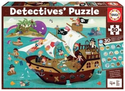 PUZZLE DETECTIVE 50 PIEZAS...