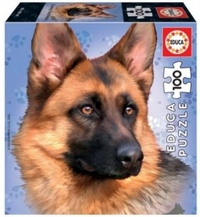 PUZZLE 100 GERMAN SHEPHERD...