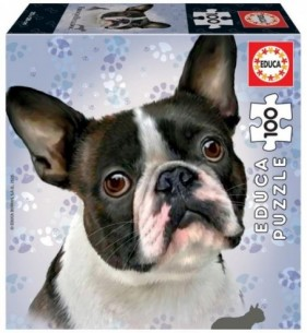 PUZZLE 100 FRENCH BULLDOG...